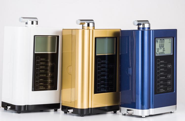 Display Temperature Intelligent Voice System Ionized Alkaline Water Ionizer