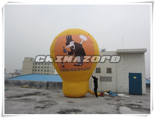 Fantastic Design Ground Inflatable Balloon with Customized Logo