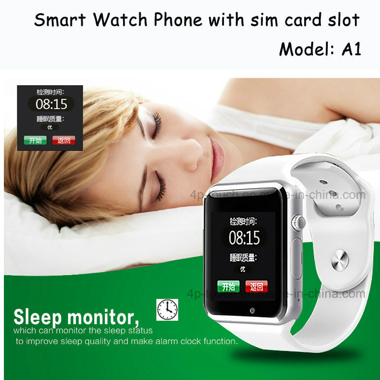 A1 Bluetooth Smart Watch with SIM Card and TF Card Slot (A1)