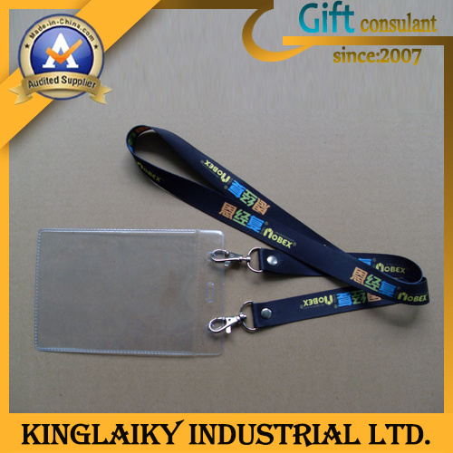 Lowest Price Full Color Printed ID Card Holder Lanyard (KLD-020)