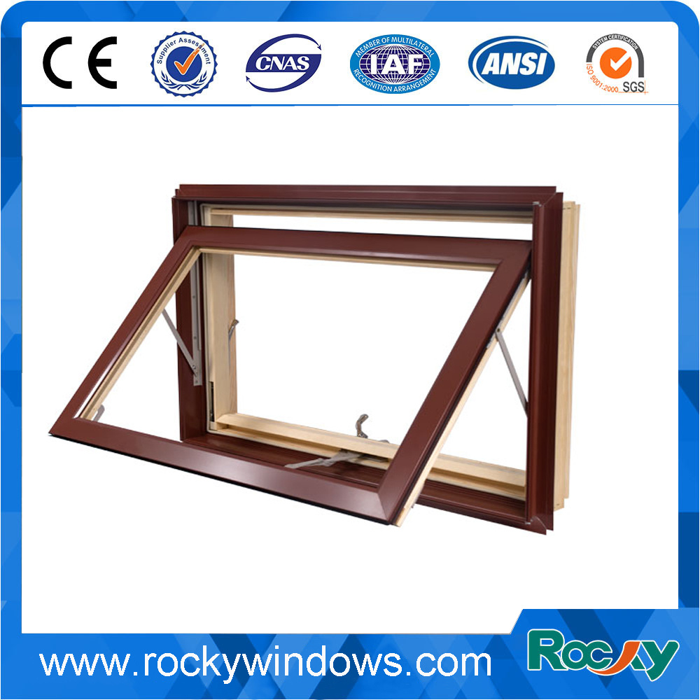 Wood Grain Color Design with Reasonable Price PVC Windows