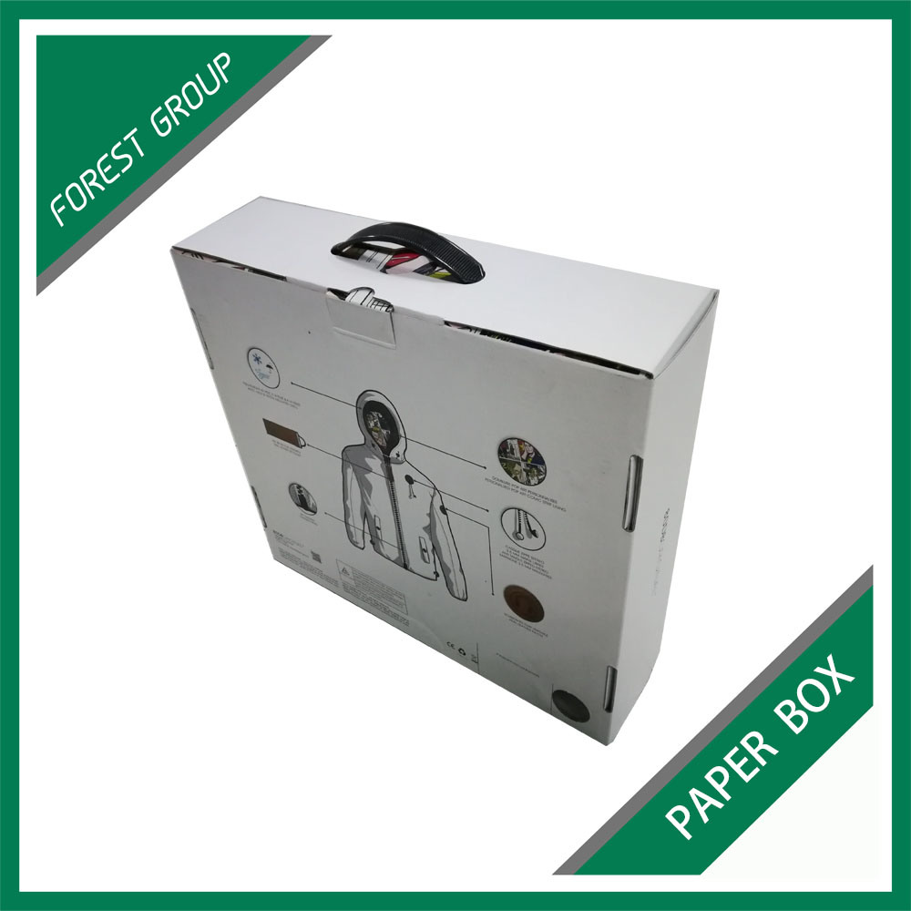 Color Printing Corrugated Carrier Carton (FP6051)
