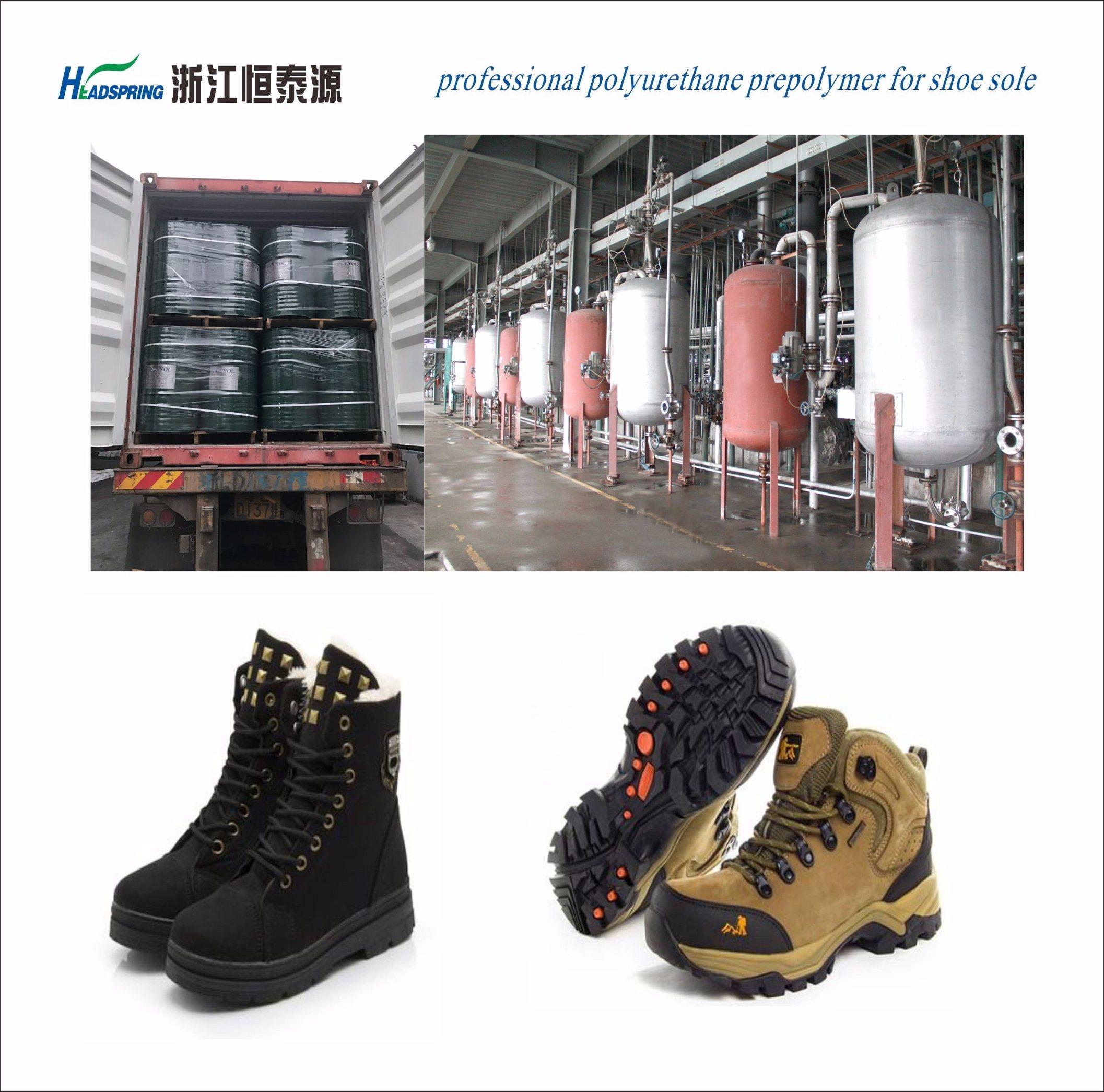 Polyester Resin of Cold Resist Footwear