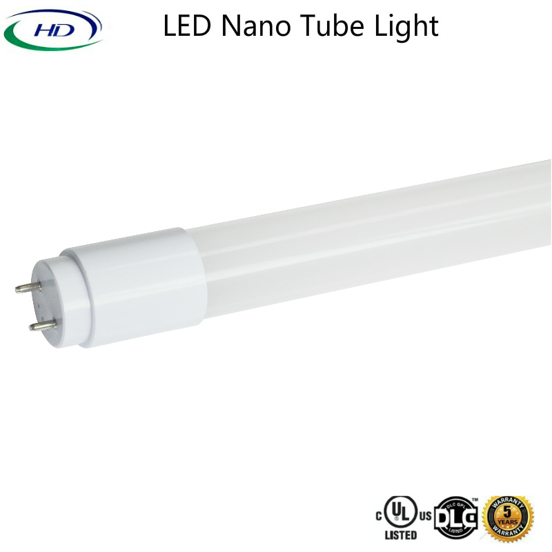 12W Ballast Compatible Nano Plastic LED Tube Light (A+B Series)