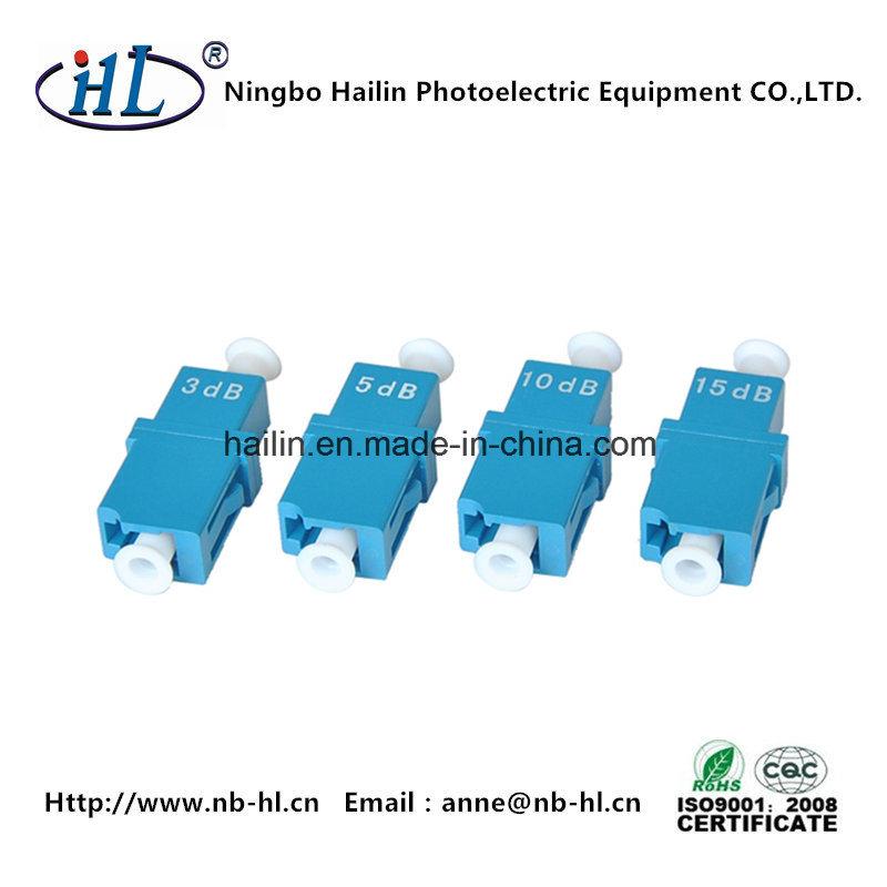 LC Fiber Optic Fixed Attenuator Use in Optical Fiber Transmitting Circuit