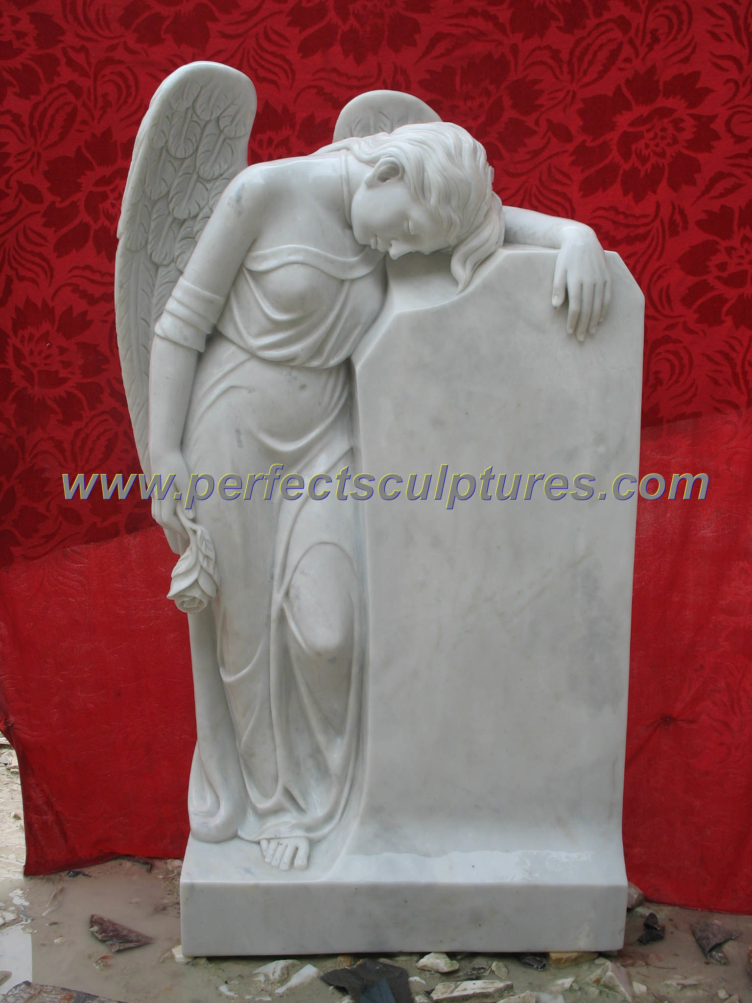 Gravestone Statues, Cemetery