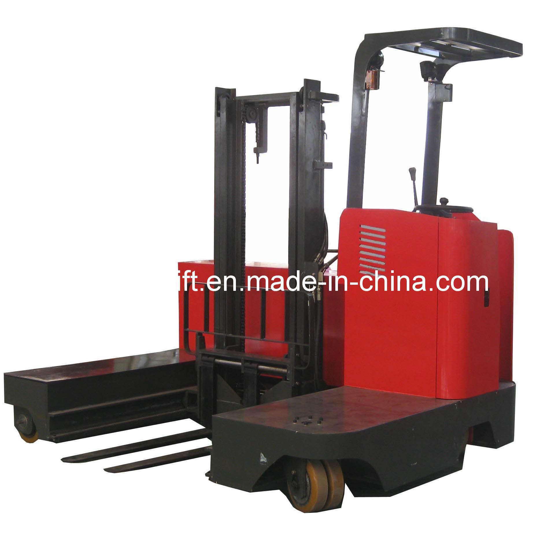 China Electric Side Loading Forklift Td Models Capacity 1