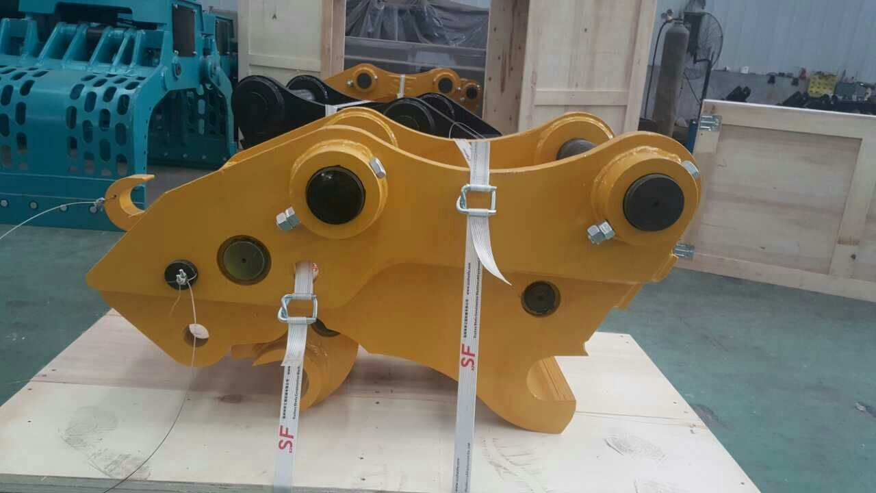 ISO and SGS Certificated Excavator Hydraulic Quick Hitch