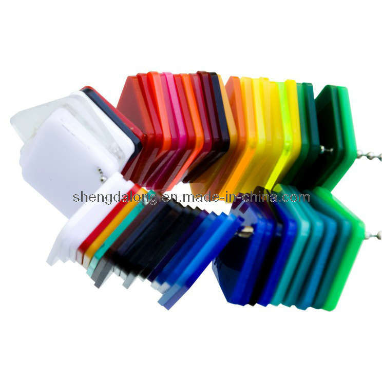 Colored Cast Acrylic Sheet in Different Sizes