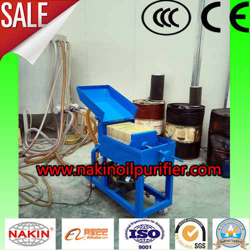 PF-10 Vacuum Plate Press Motor Oil Purifier