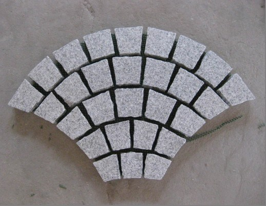 Building Material Flamed G603 Light Granite Paving for Floor/Stair