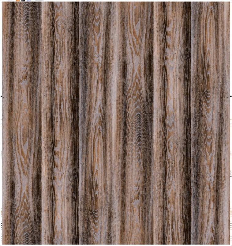 Laminate Flooring Paper Oak (CD-90725)