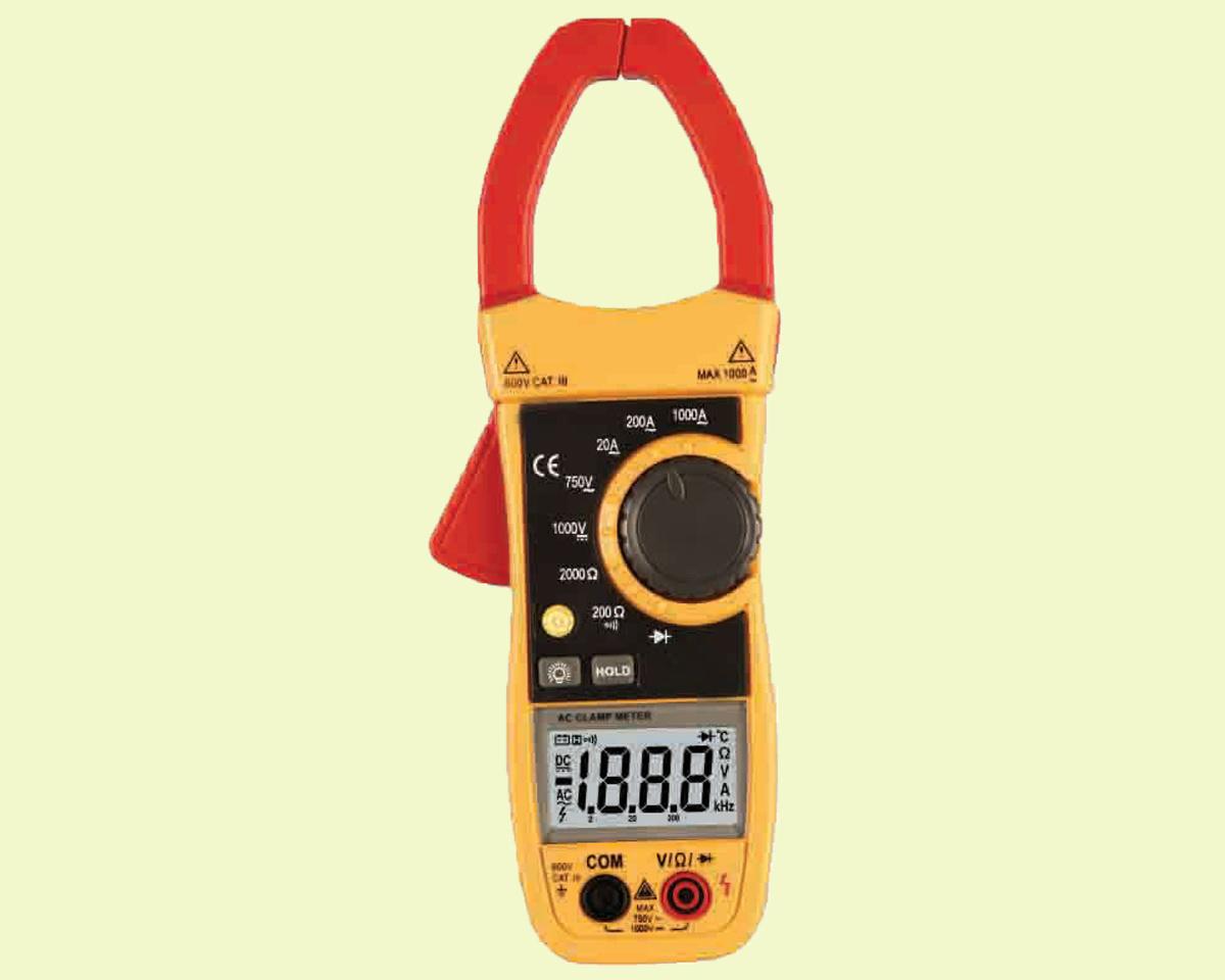 Ac Current Meter : Clamp meter ac current