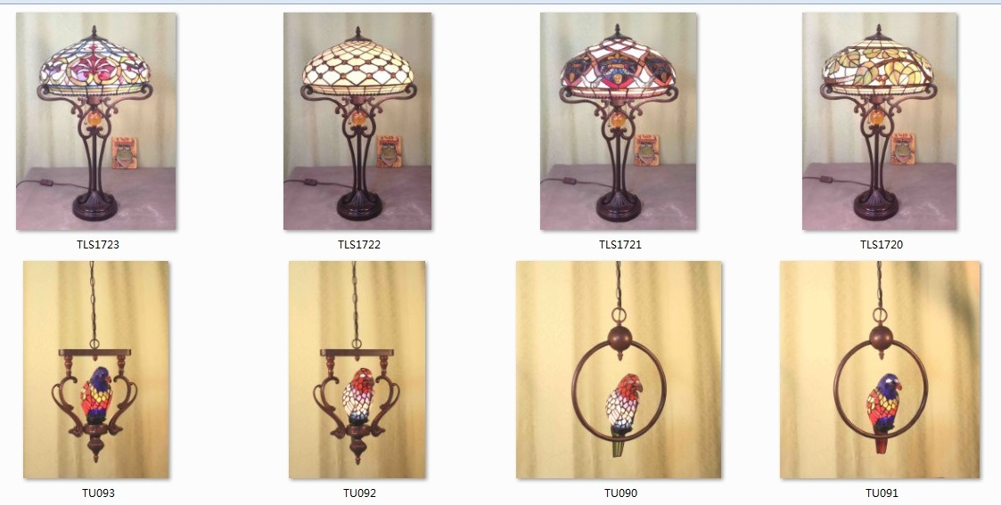 Art Stained Glass Lampade