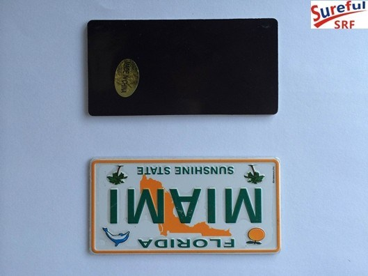 Magnet License Plate 8X4cm