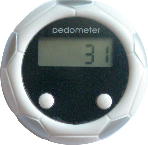 RoHS Certified Football Design Gift Pedometers