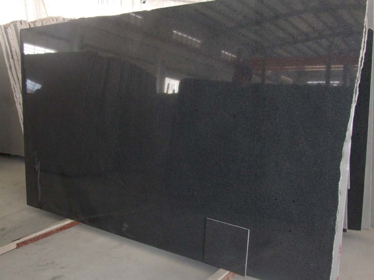 Granite Slabs Product : China g black granite slabs