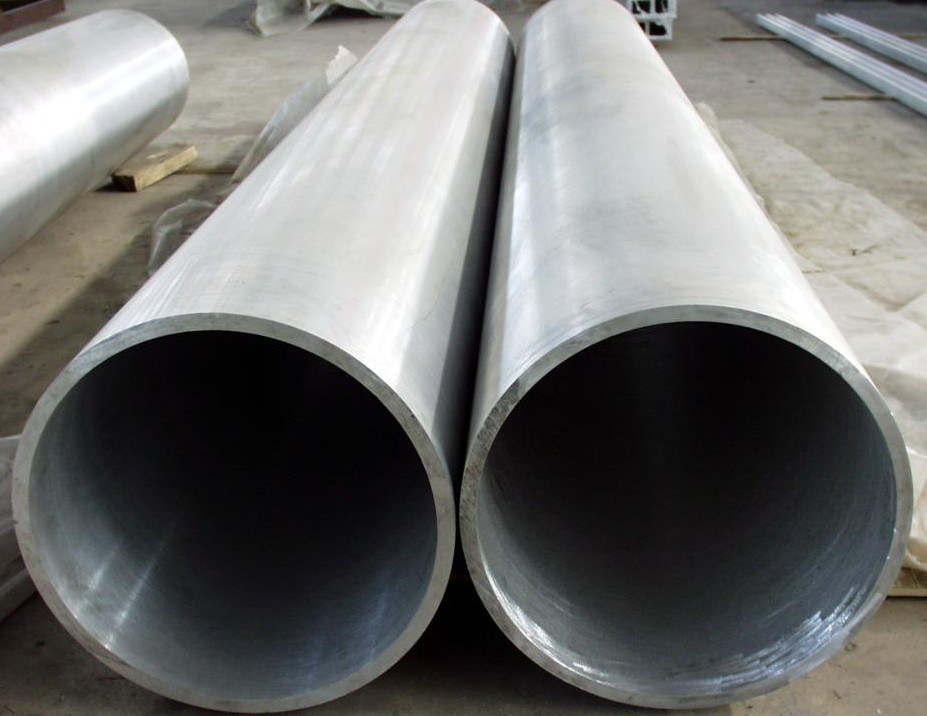 Aluminum pipe large od
