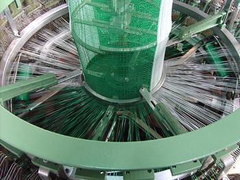 PP Leno Mesh Bag Circular Loom
