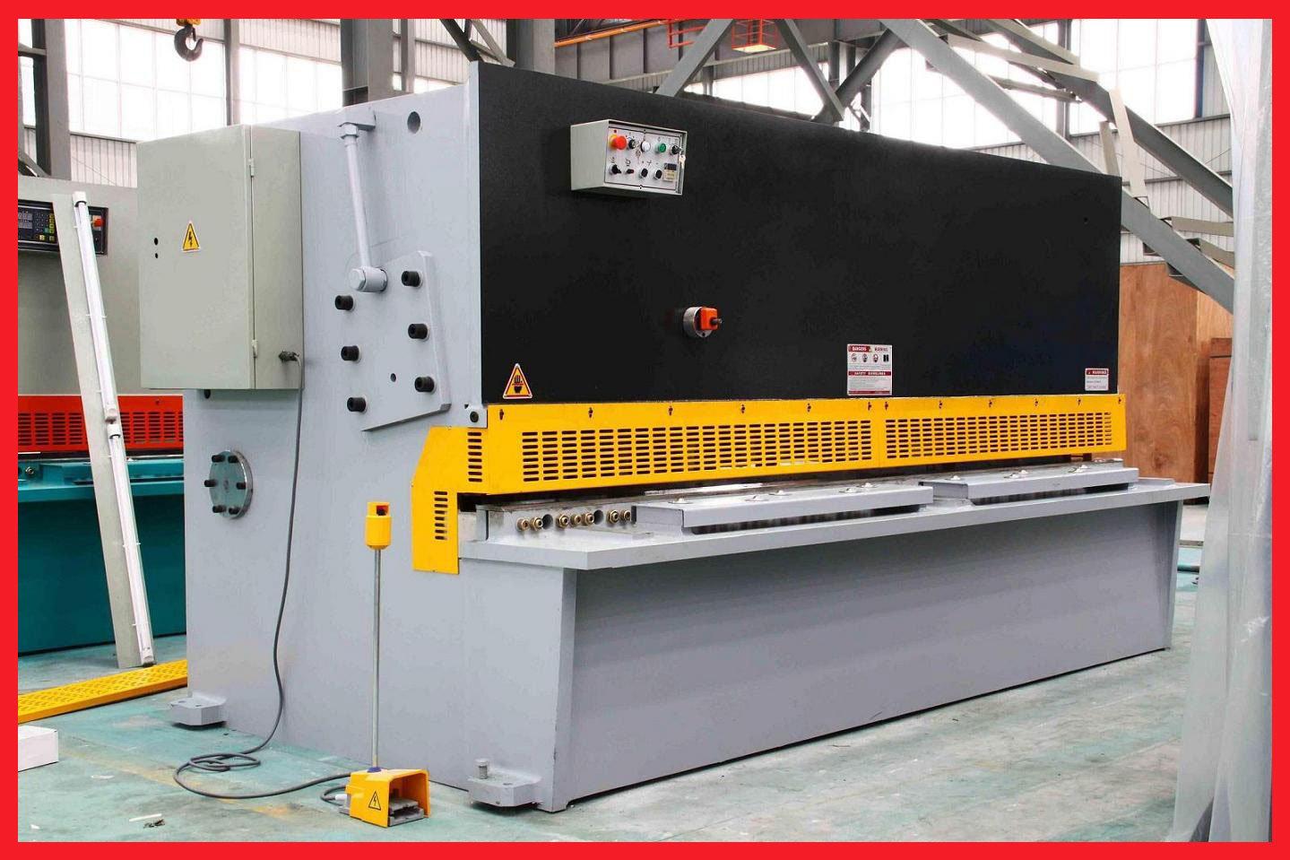 Steel Cutting Equipment : China hydraulic sheet metal cutting machine qc y photos