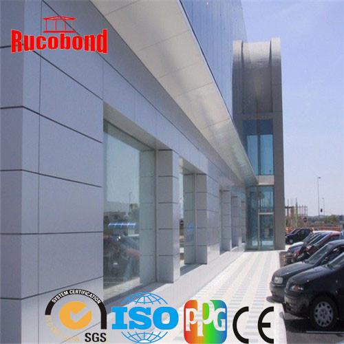 Guangzhou Cladding Wall ACP Aluminum Composite Panel (RCB-N01)