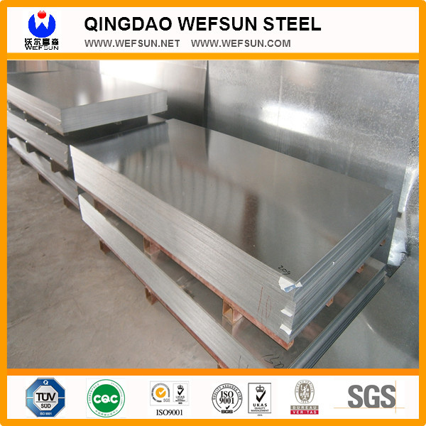 SGCC Dx51 Galvanized Steel Sheet