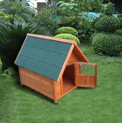 Outdoor Garden Dog Wooden Kennel Pet House