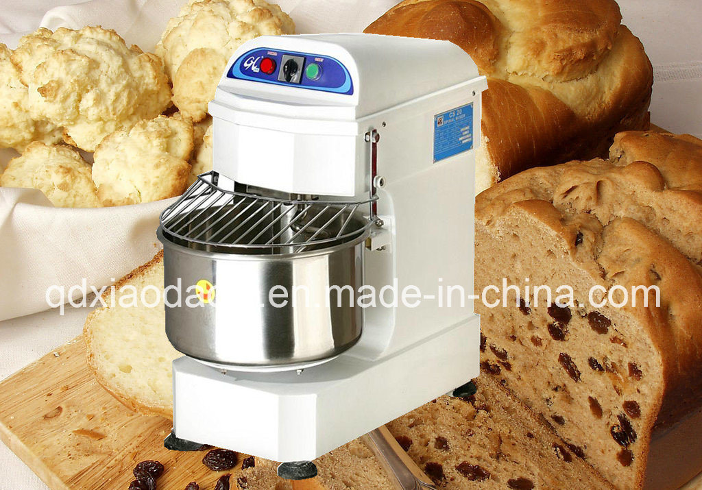 Industrial Use Bakery Pastry Spiral Dough Mixer Making Machine