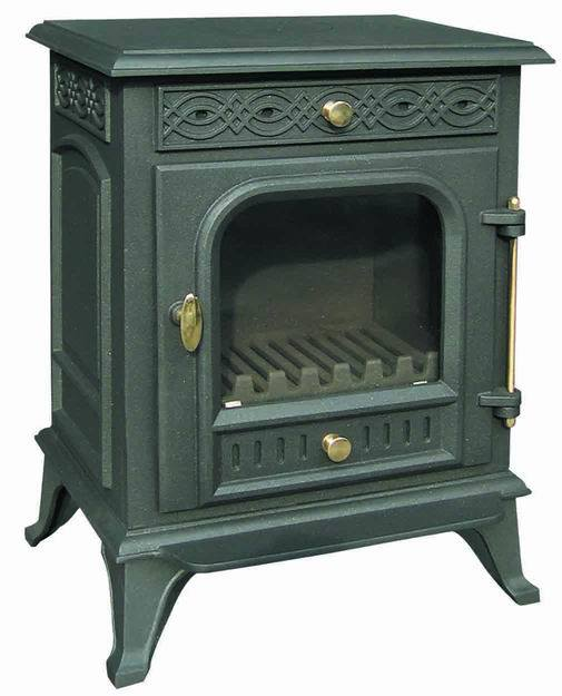 Cast Iron Fireplace, Stove (FIPA009) Wood Stove