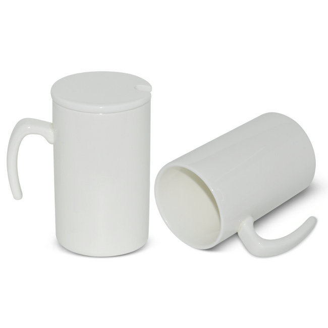 Wholesale Seven Shape Handle Straight Milk Mug Sublimation Mug Blank