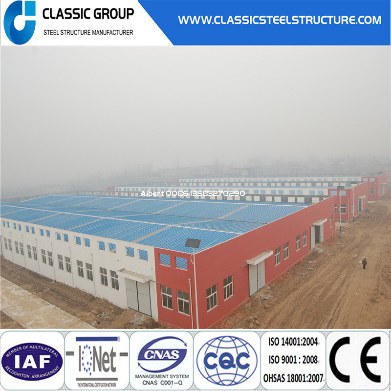 Good Looking Easy Build Steel Structure Warehouse/Workshop/Hangar/Factory