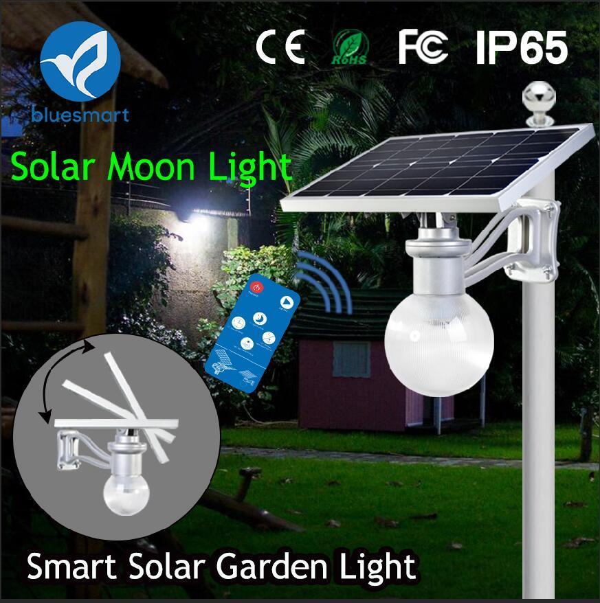 Bluesmart Outdoor 6-12W Motion Sensor LED Solar Street Garden Light