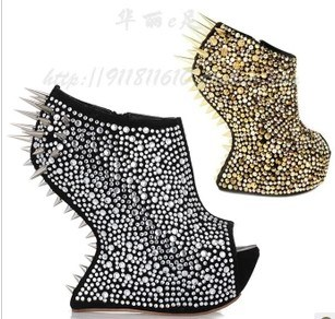 High Heel Shoes with Spikes for Women