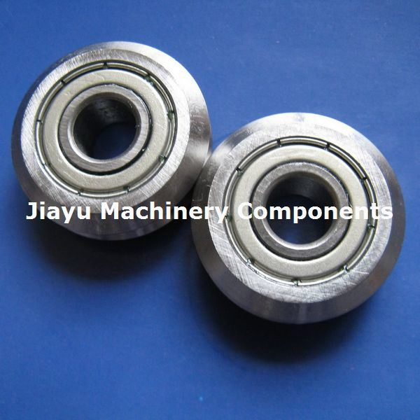 V Groove Track Roller Bearings Track Rollers RM Series