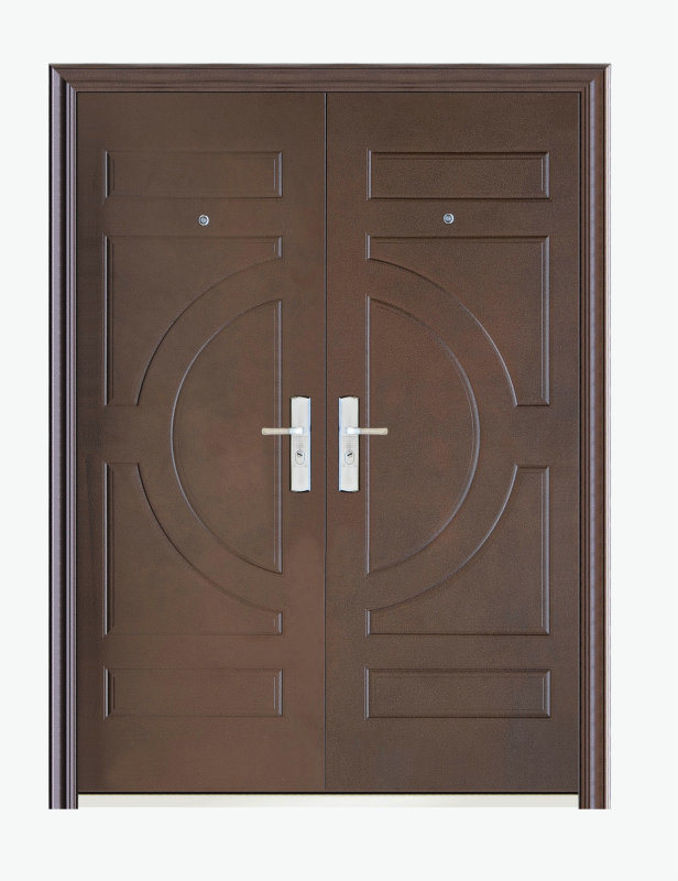 china double leaf steel security door xfs 1050 china
