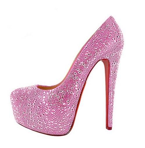 Lady Womens High Heel Shoes