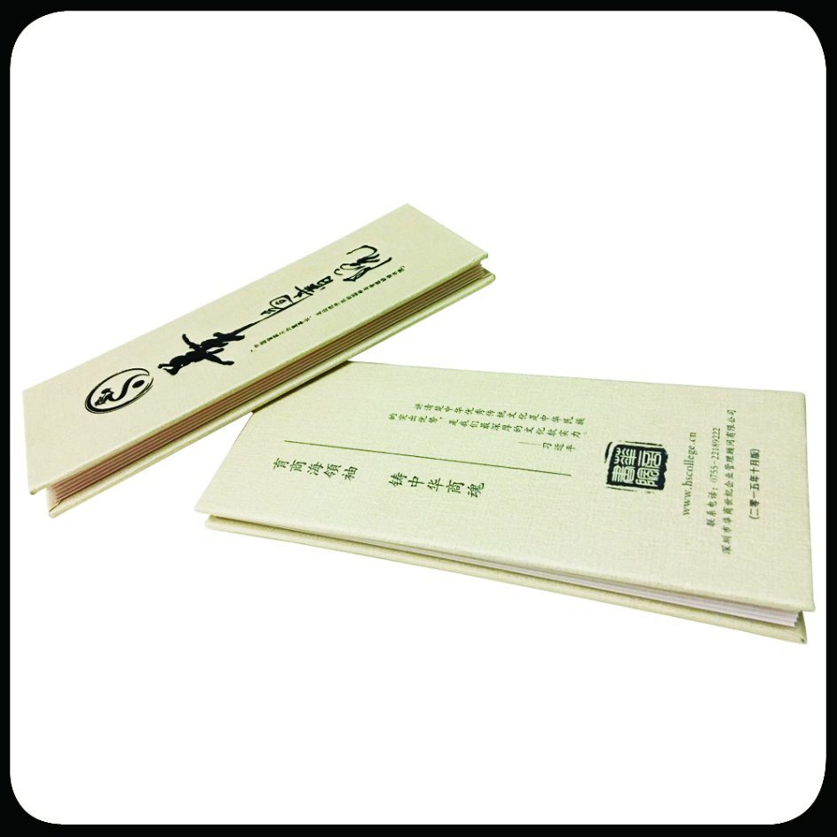Folded Leaflet Custom Brochure Printing Catalog Printing with Spot-UV