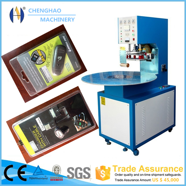Alibaba Receomend 5-10kw Single Head High Frequency Blister Packing Machine
