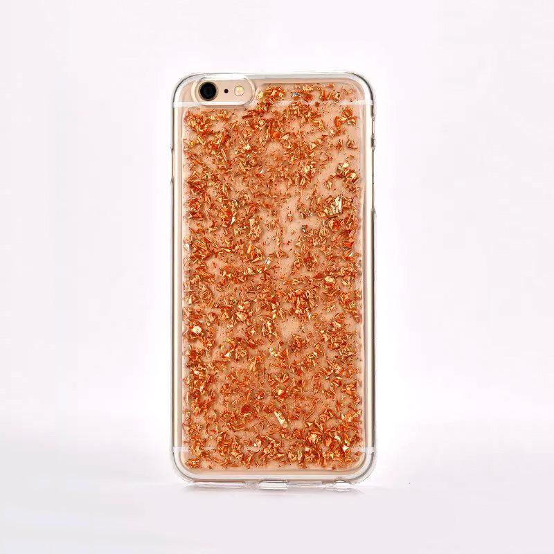 Custom Bling Glitter Mobile Phone Housing Case for iPhone 7