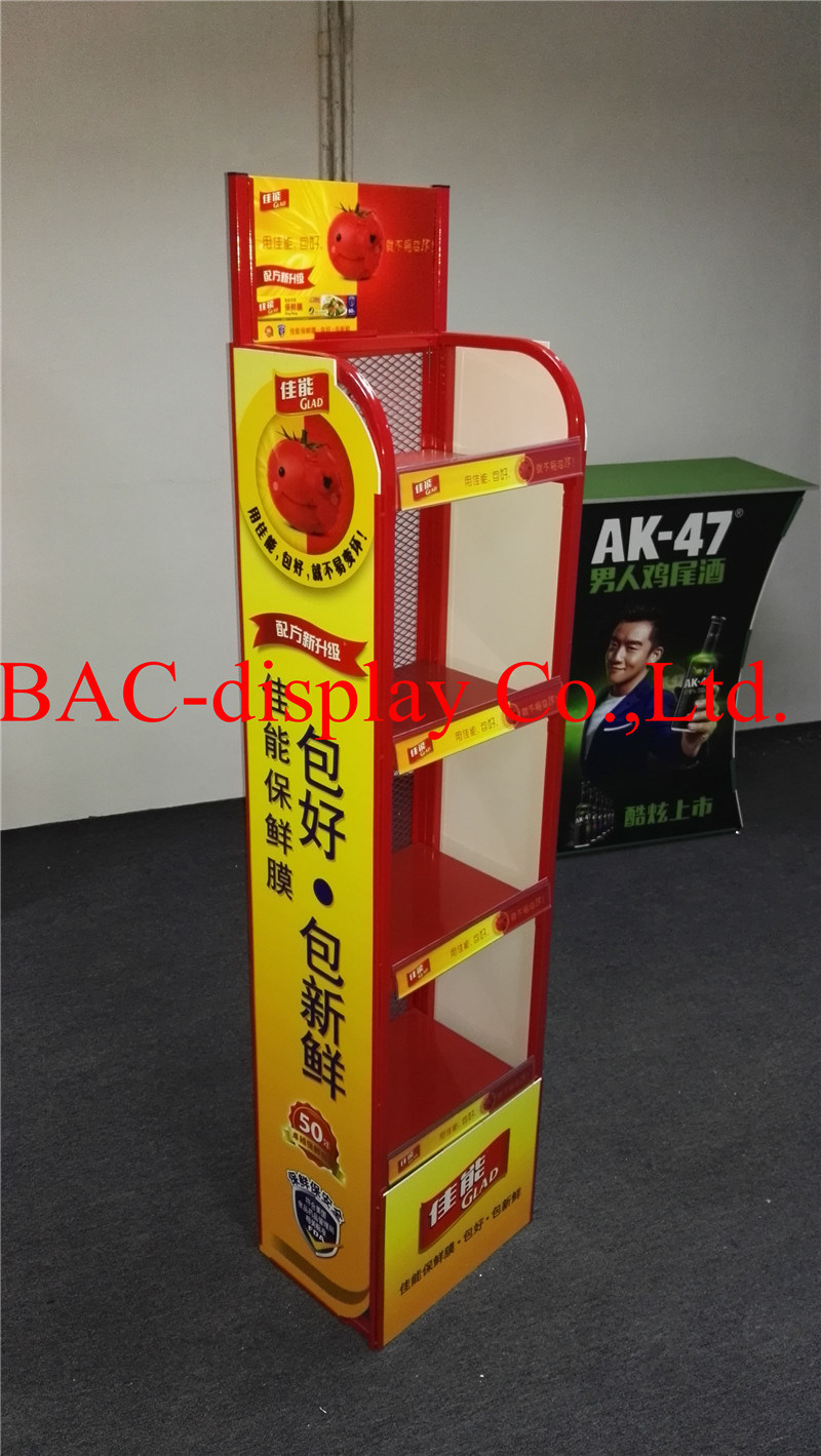 Metal Floor Store Display Stand for Store Display