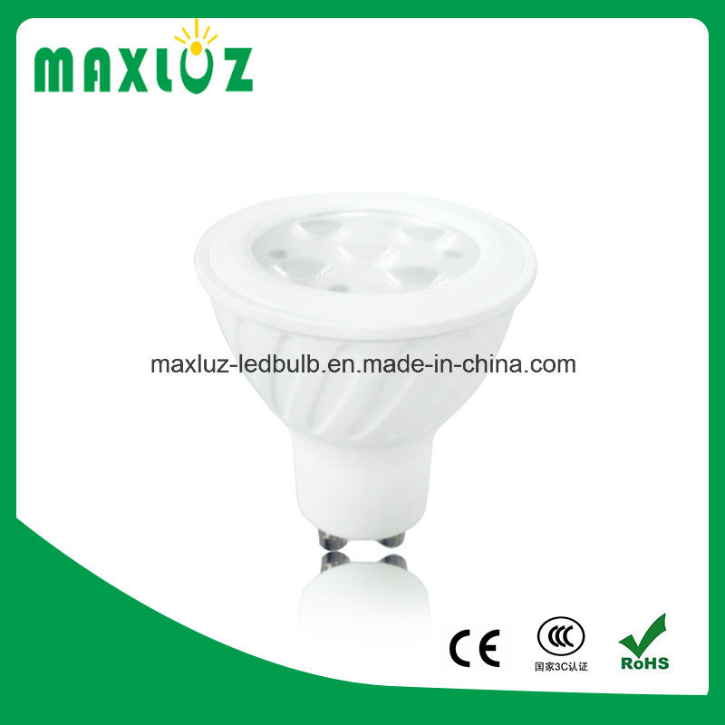 Hot Sale 5W SMD GU10 LED Spotlight with Lens
