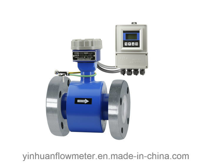 High Pressure Flange Divided Type Electromagnetic Flowmeter