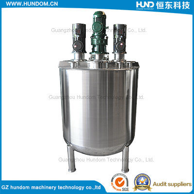 Stainless Steel Liquid Mixing Tank for Chocolate with Top Agitator