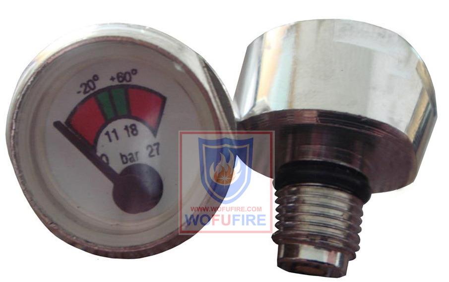 Burden Type Pressure Gauge Use for Fire Extinguisher