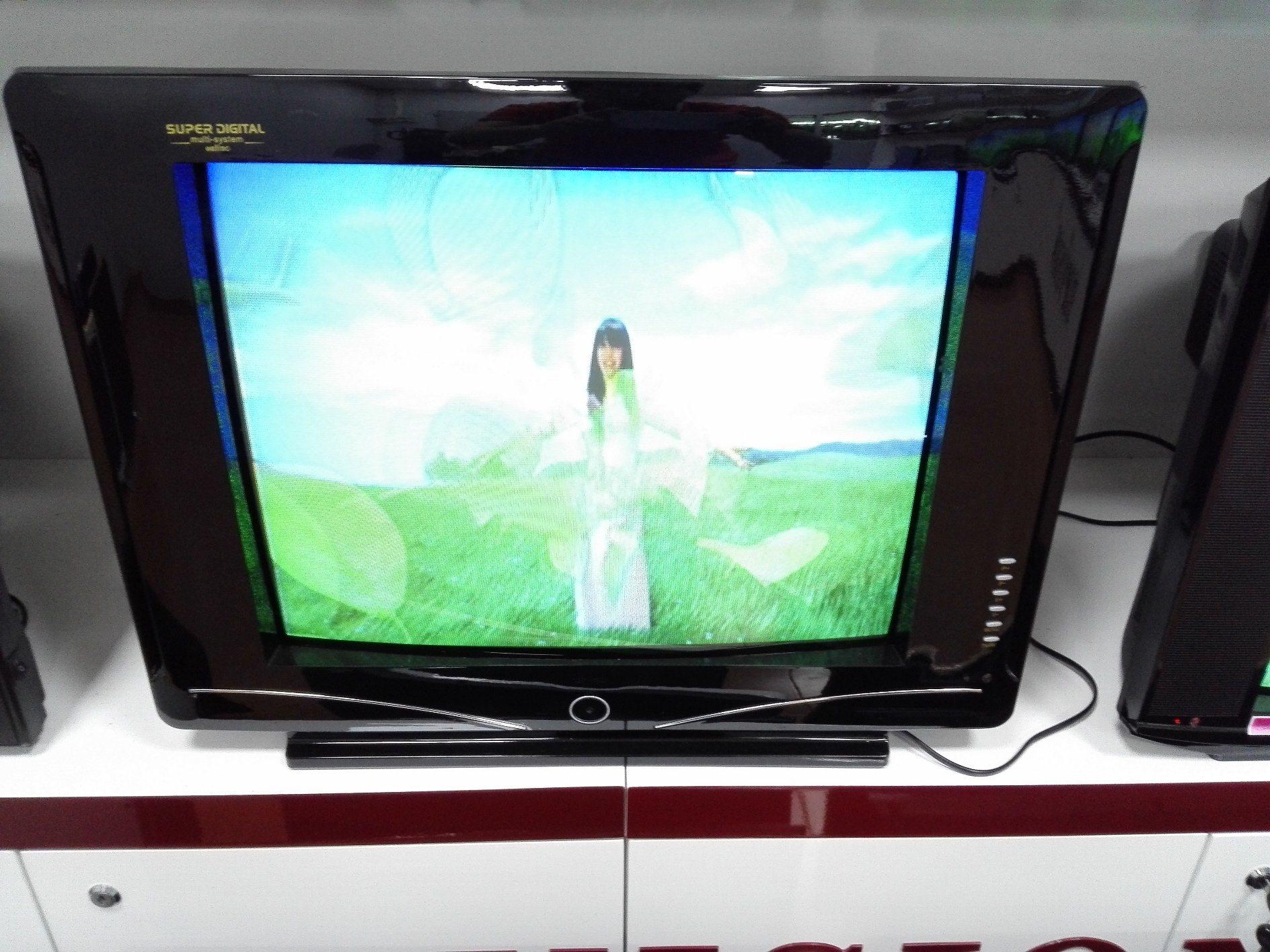 "21"" Digital Color TV with DVB-T2"