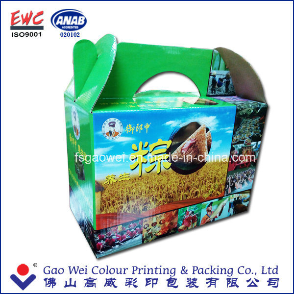 Recycle Quality Custom Design Colorful Corrugated Paper Box Carton