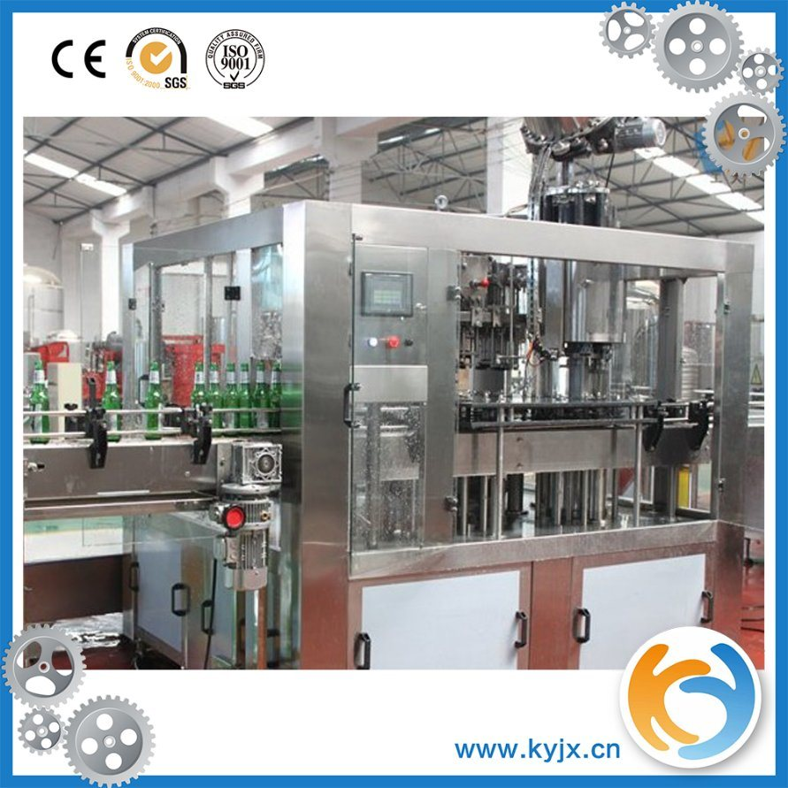 Automatic Glass Bottle Carbonated Beverage Making Machine