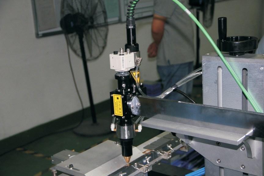 Automatic Fiber Scanner Laser Spot Welding Machine