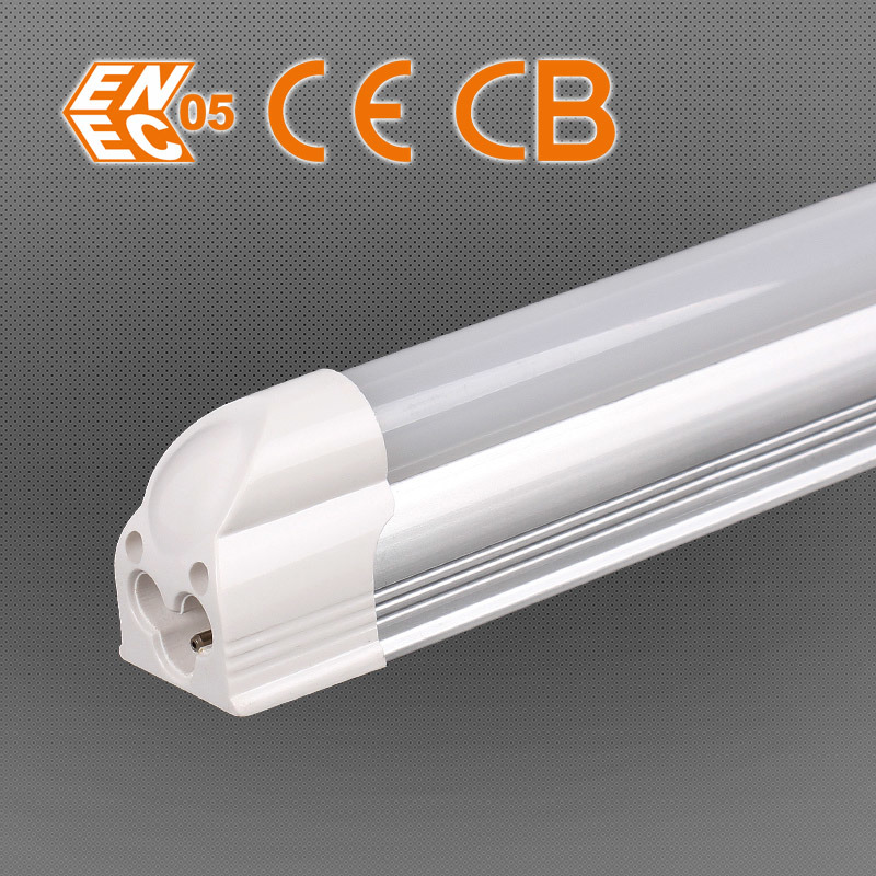 LED Integrated Tube T5 Bulb 310mm 4W Frosted Clear Cover