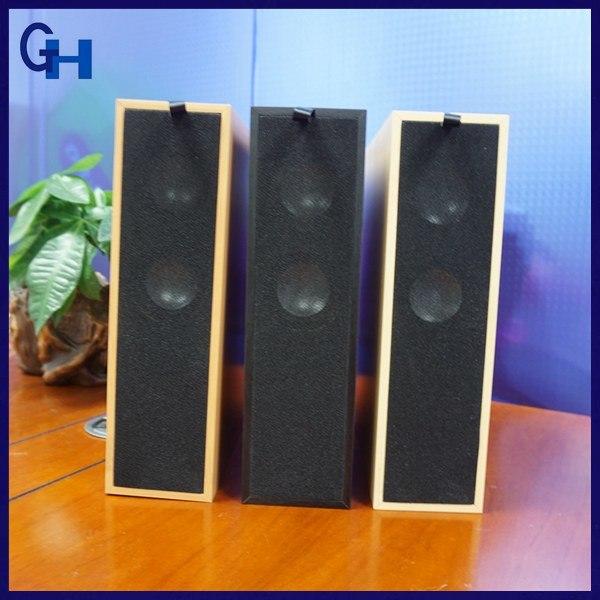 2017 Cheap Newest Promotional Gift Wood Home Bookshelf Wooden Bluetooth Speaker